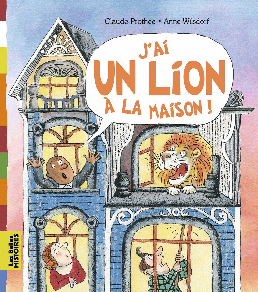 «J'ai un lion à la maison» cover