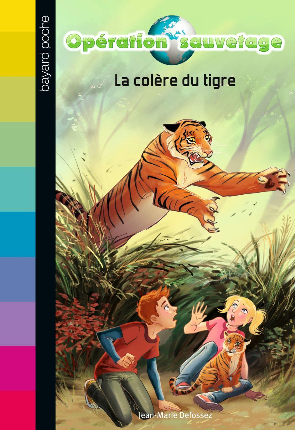 «La colère du tigre» cover