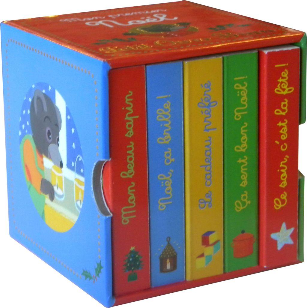Couverture de «Mon premier Noël avec Petit Ours Brun – 5 mini-livres»