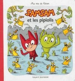 «Samsam et les pipiolis» cover