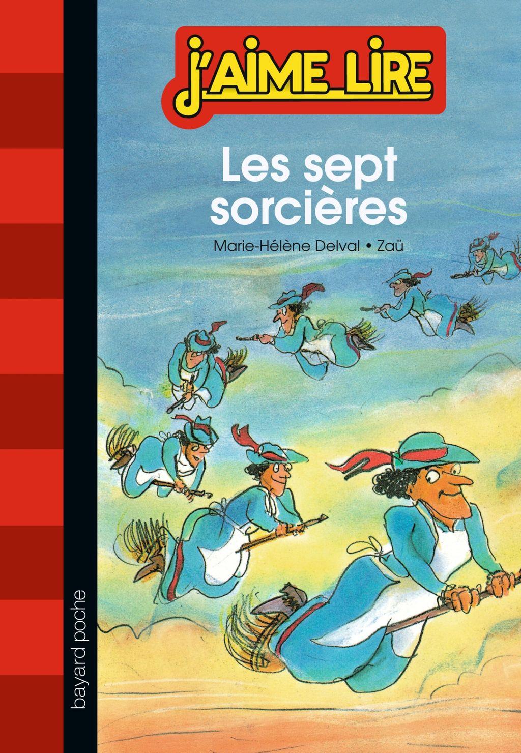 «Les sept sorcières» cover