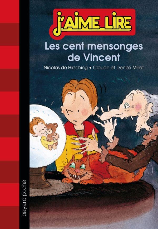 «Les cent mensonges de Vincent» cover