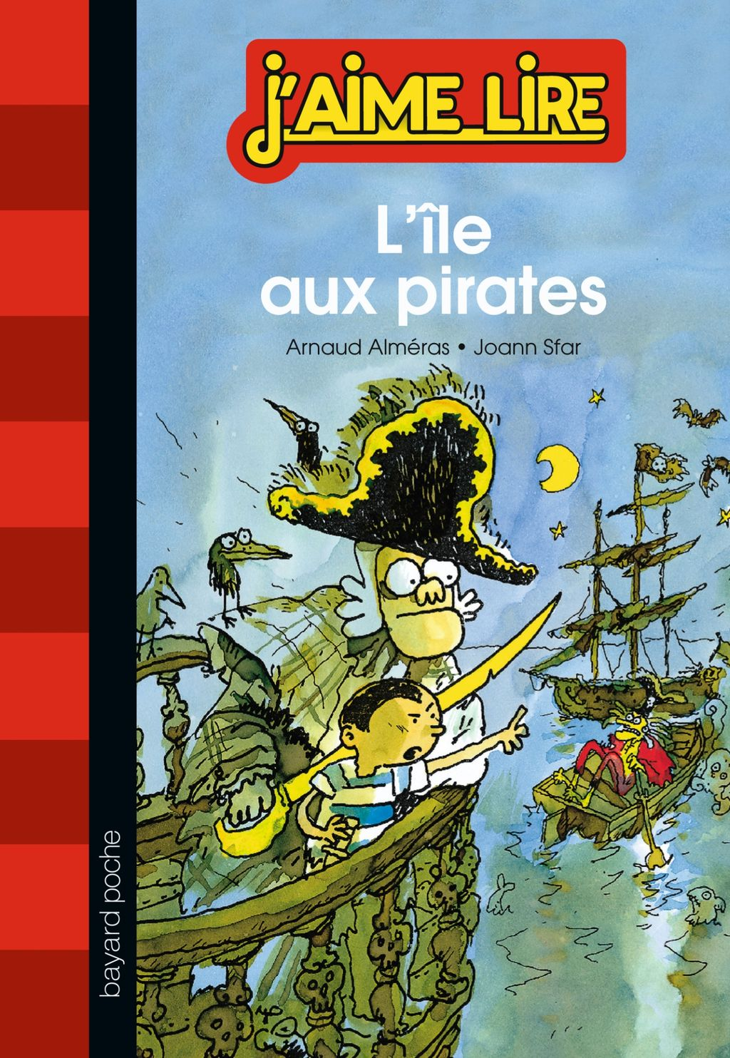 « L'île aux pirates » cover