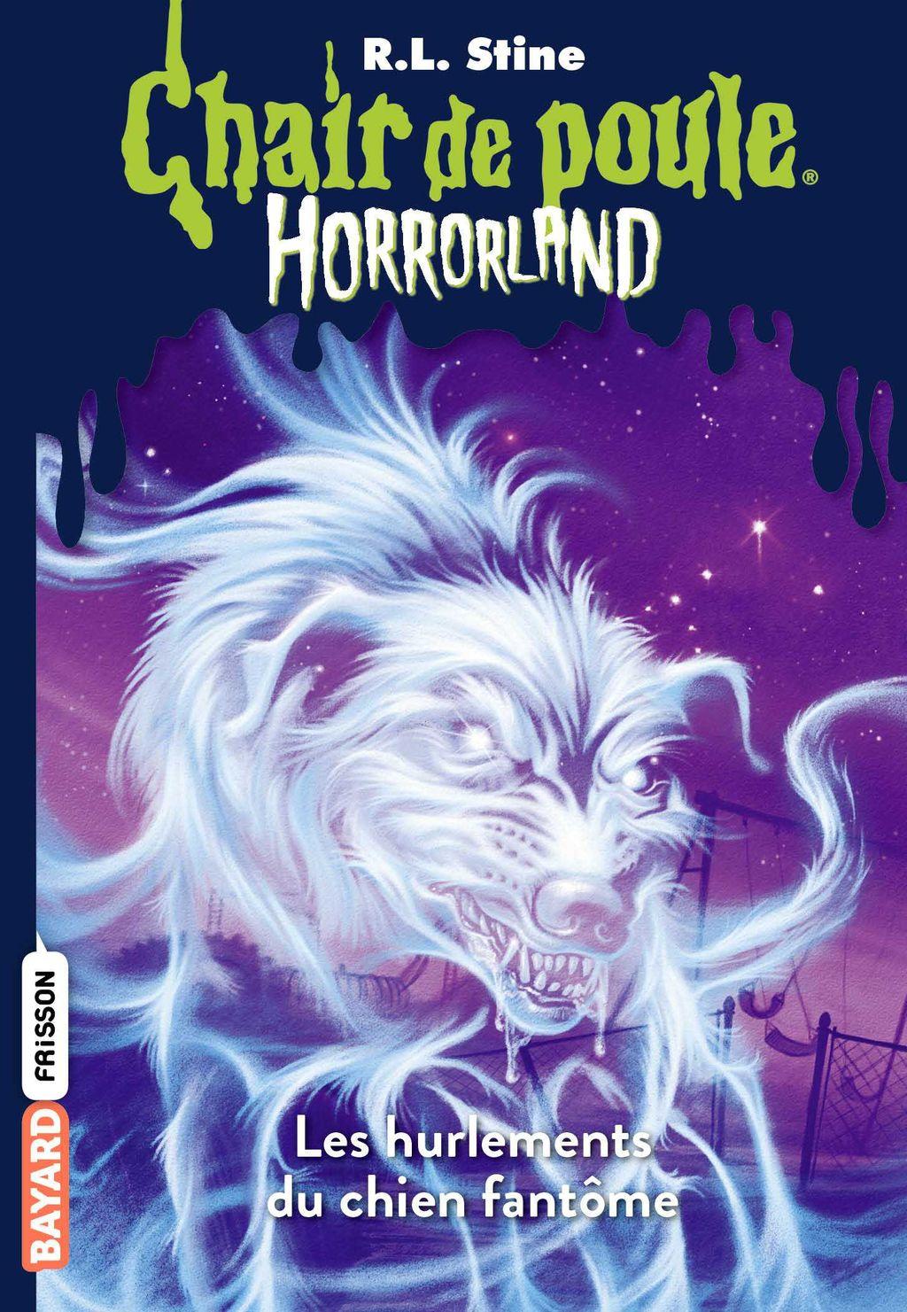 Couverture de «Les hurlements du chien fantôme»