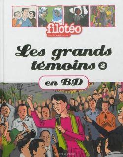 «Les grands témoins en BD T. 2» cover