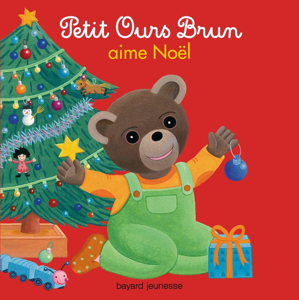 Couverture de «Petit Ours Brun aime Noël»