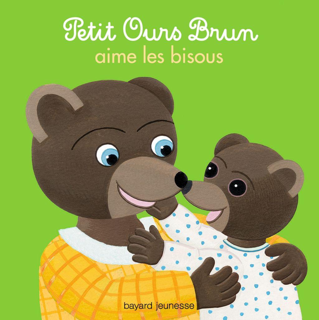 Couverture de «Petit Ours Brun aime les bisous»