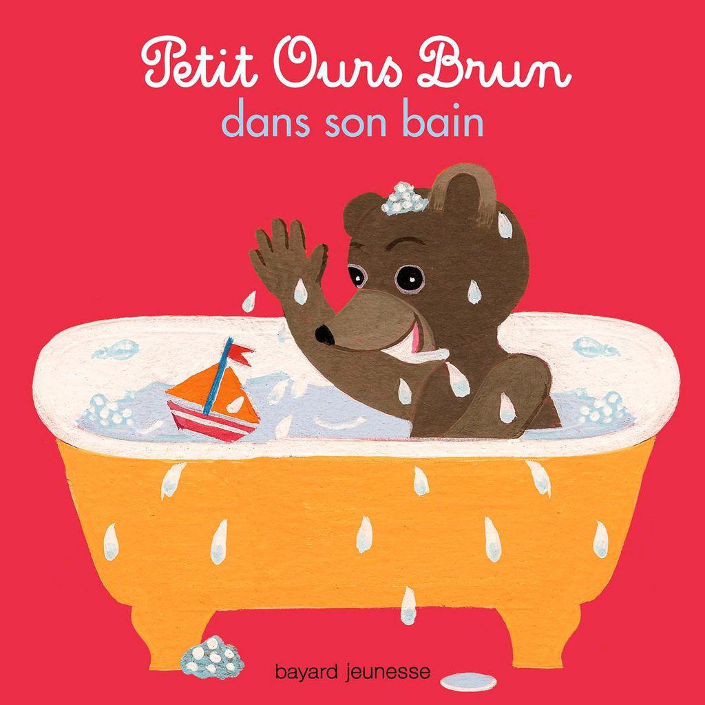 Couverture de «Petit Ours Brun dans son  bain»