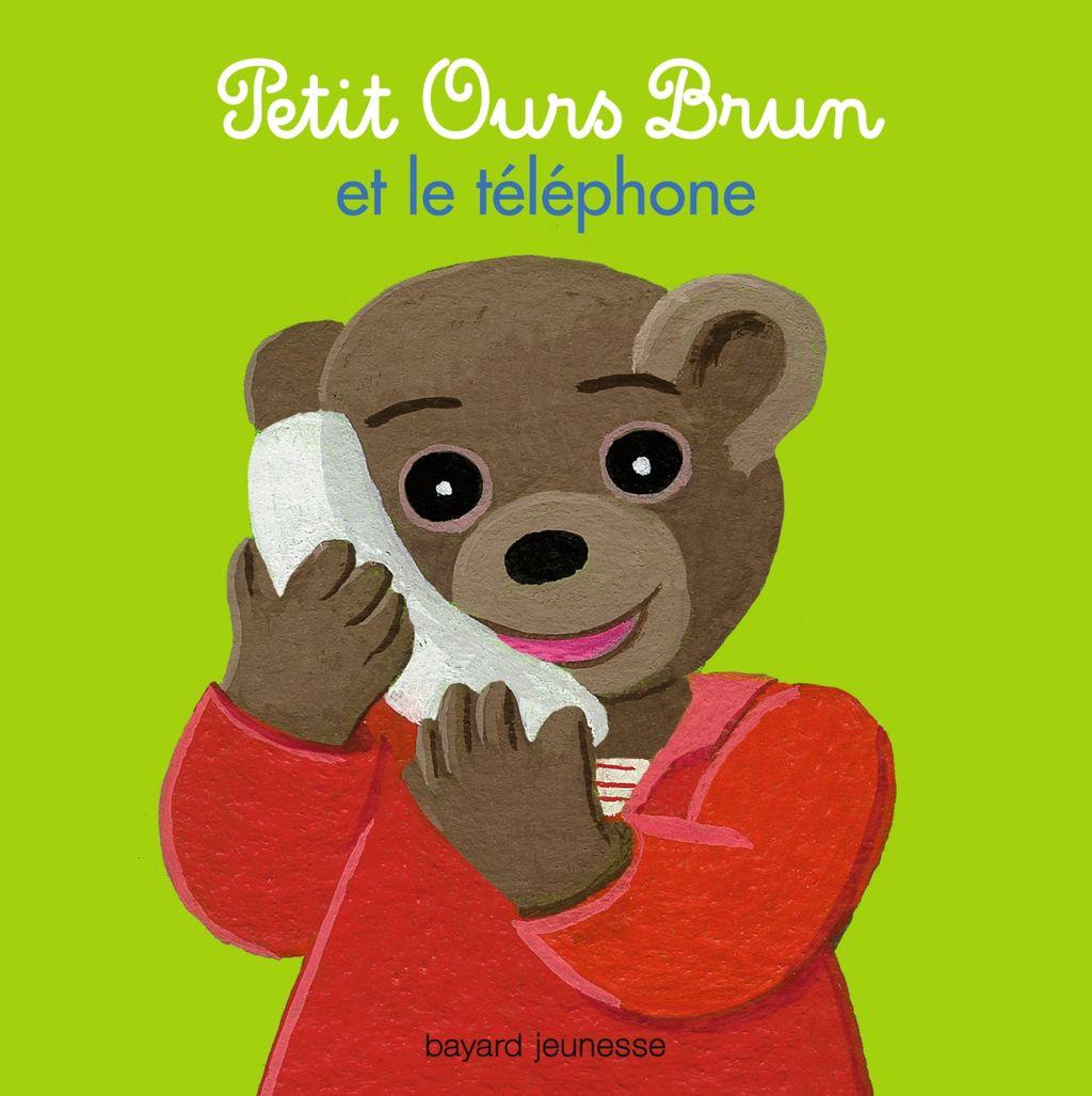 Couverture de «Petit Ours Brun et le téléphone»