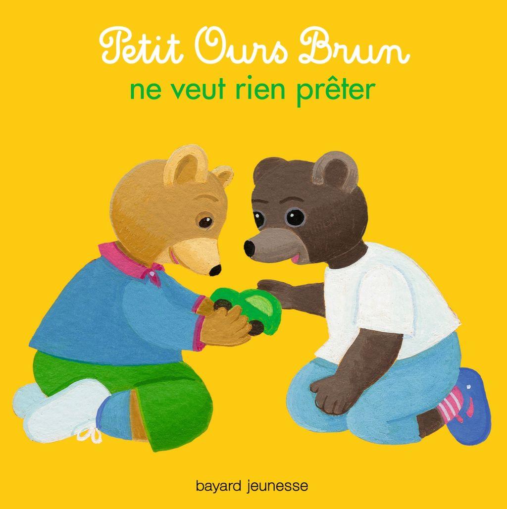 Couverture de «Petit Ours Brun ne veut rien prêter»