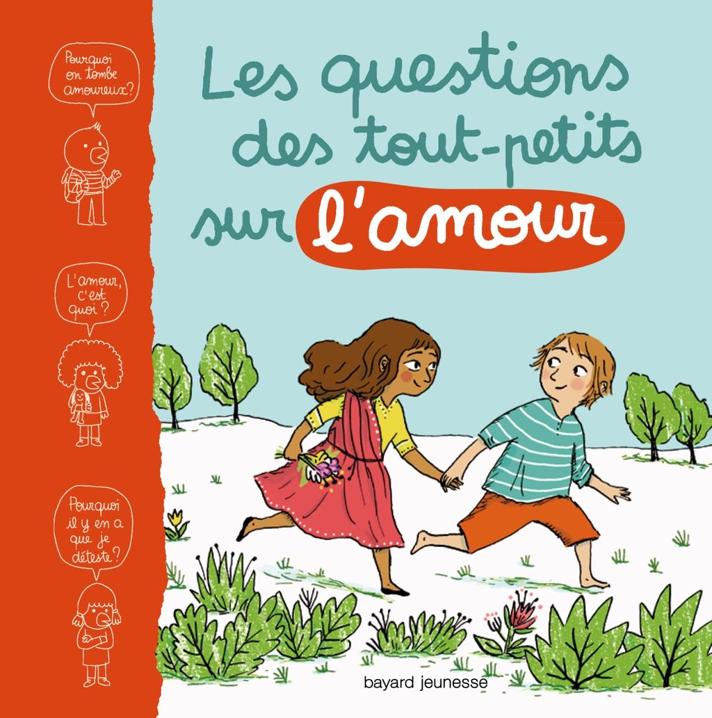 Couverture de «Les questions des petits sur l'amour»