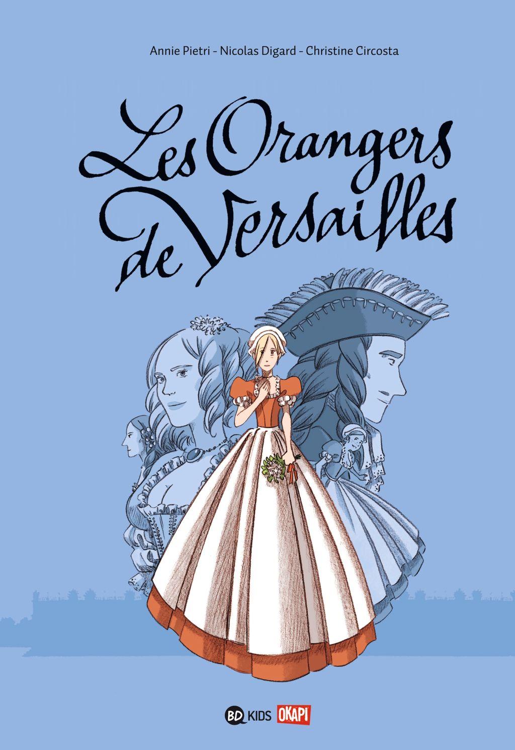 Couverture de «Les orangers de Versailles»