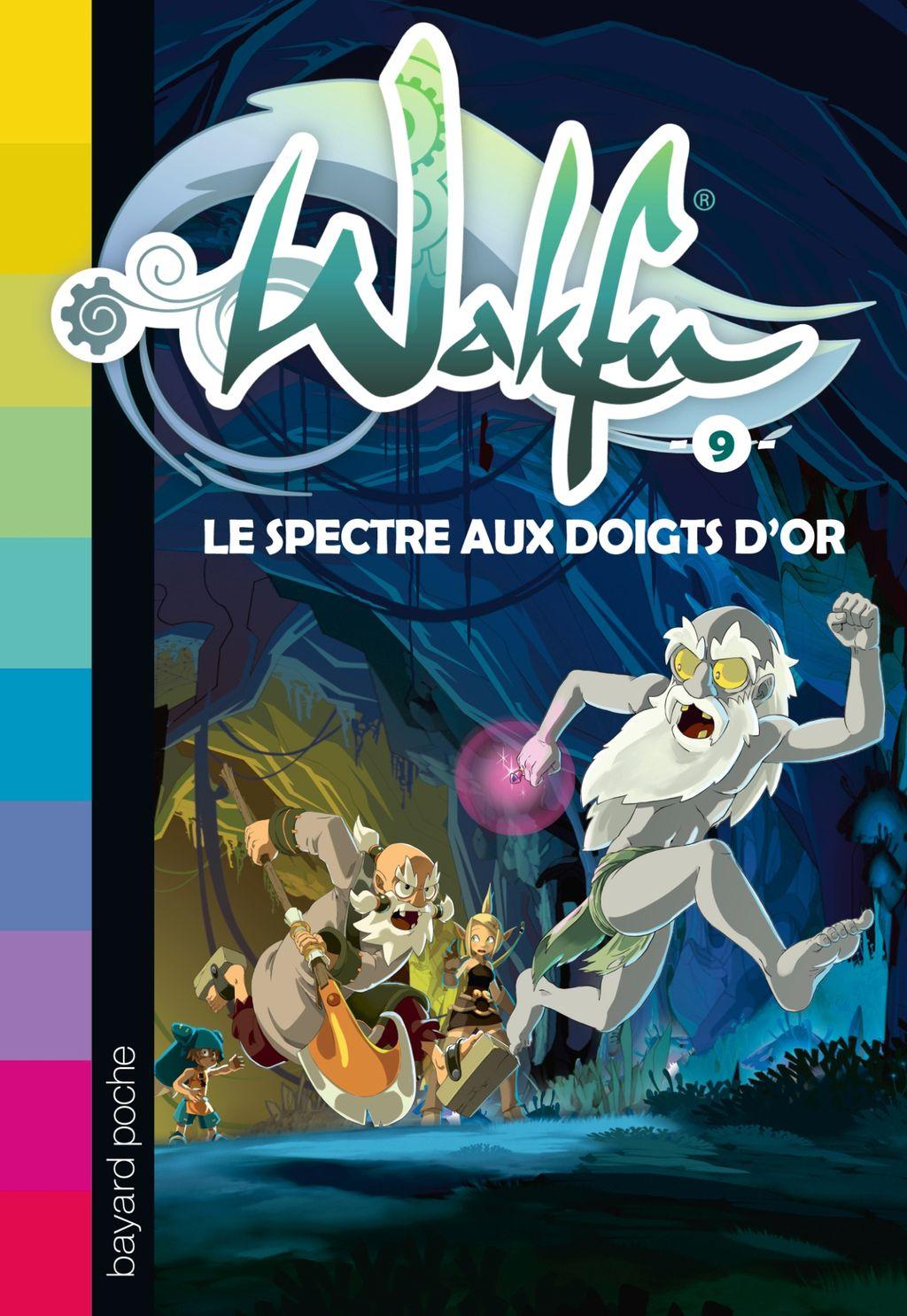 «Le spectre aux doigts d'or» cover