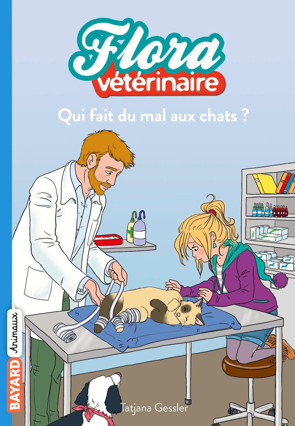 Couverture de «Qui fait du mal aux chats ?»