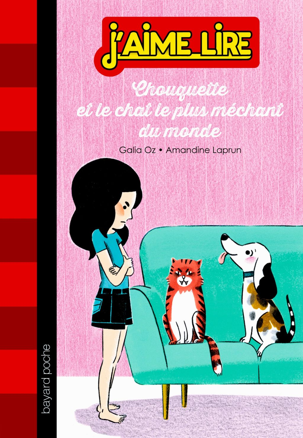 « Chouquette et le chat le plus méchant du monde » cover