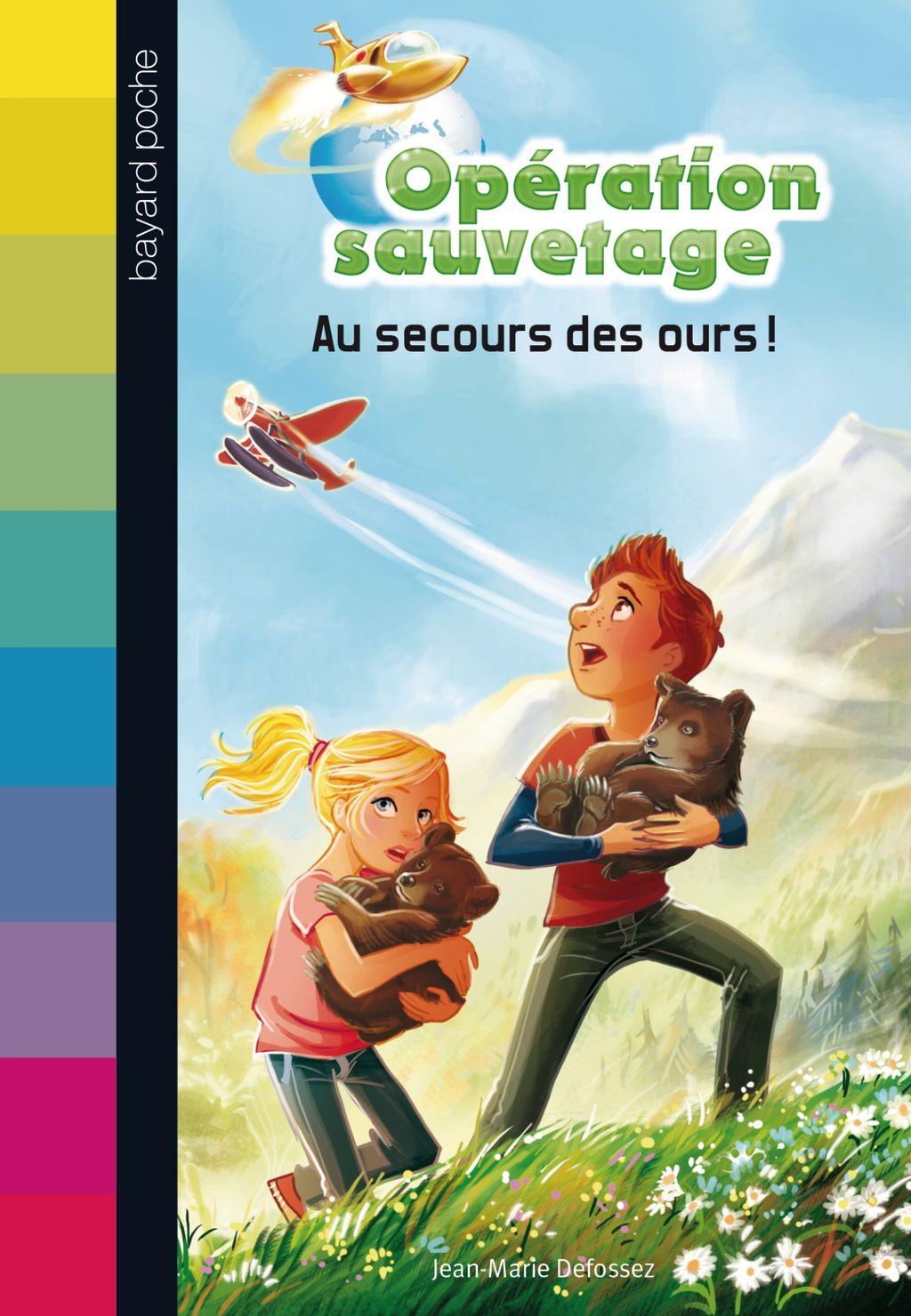 «Au secours des ours !» cover