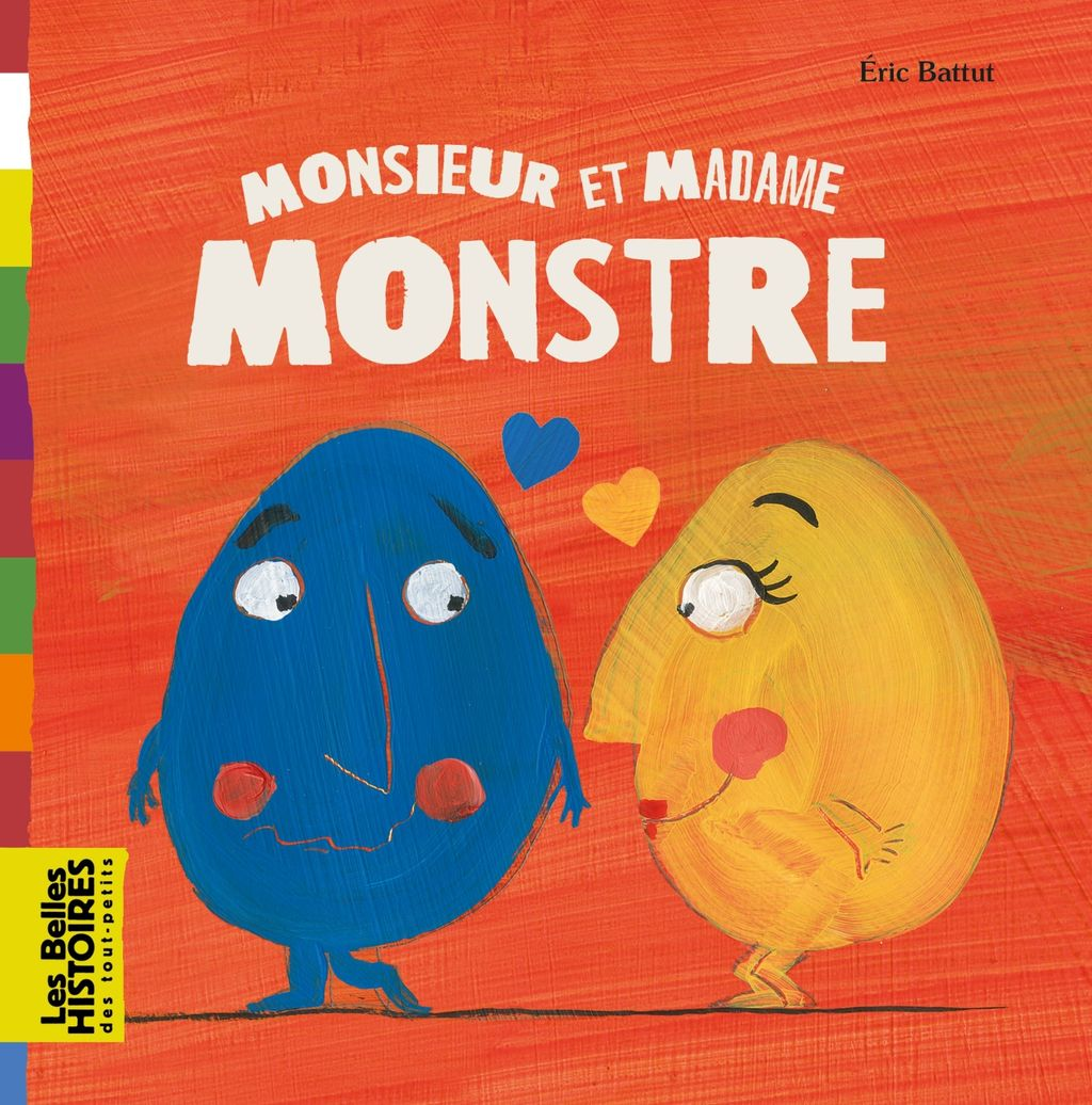 Couverture de « Monsieur et Madame Monstre »