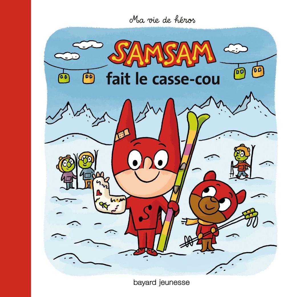«Samsam fait le casse-cou» cover