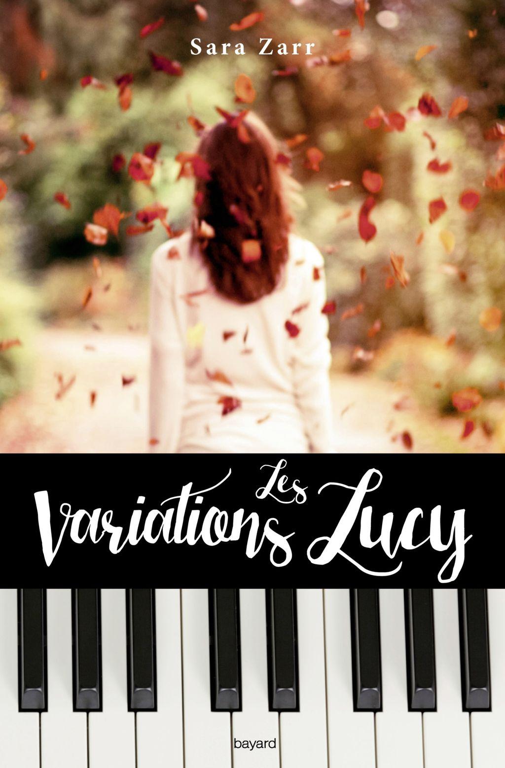 Couverture de «Les variations Lucy»