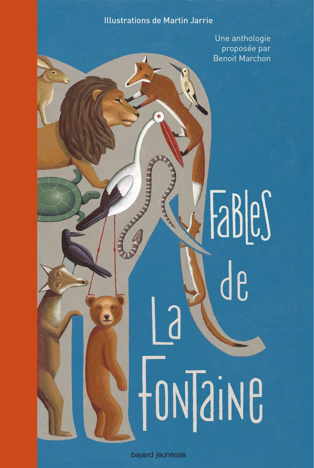 Couverture de « Fables de La Fontaine »