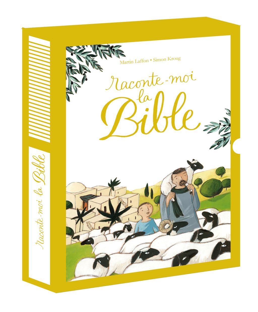 Couverture de «Raconte-moi la Bible – coffret»