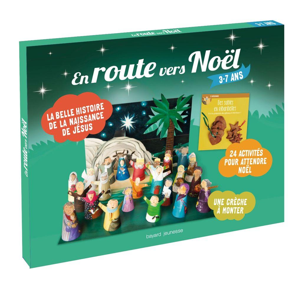 Couverture de «En route vers Noël (3-7 ans)»