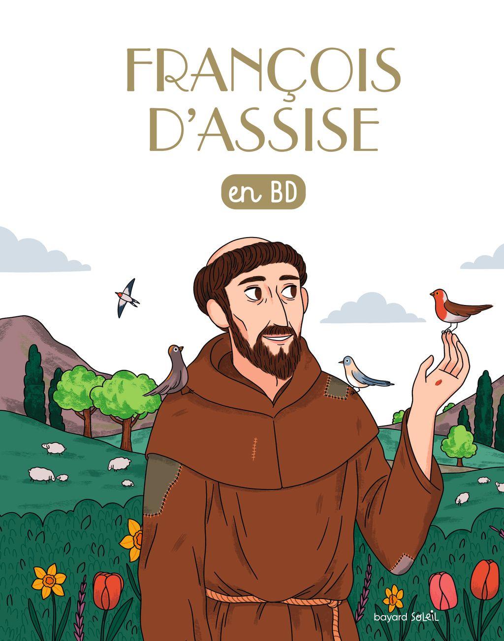 Couverture de «Saint François d'Assise en BD»