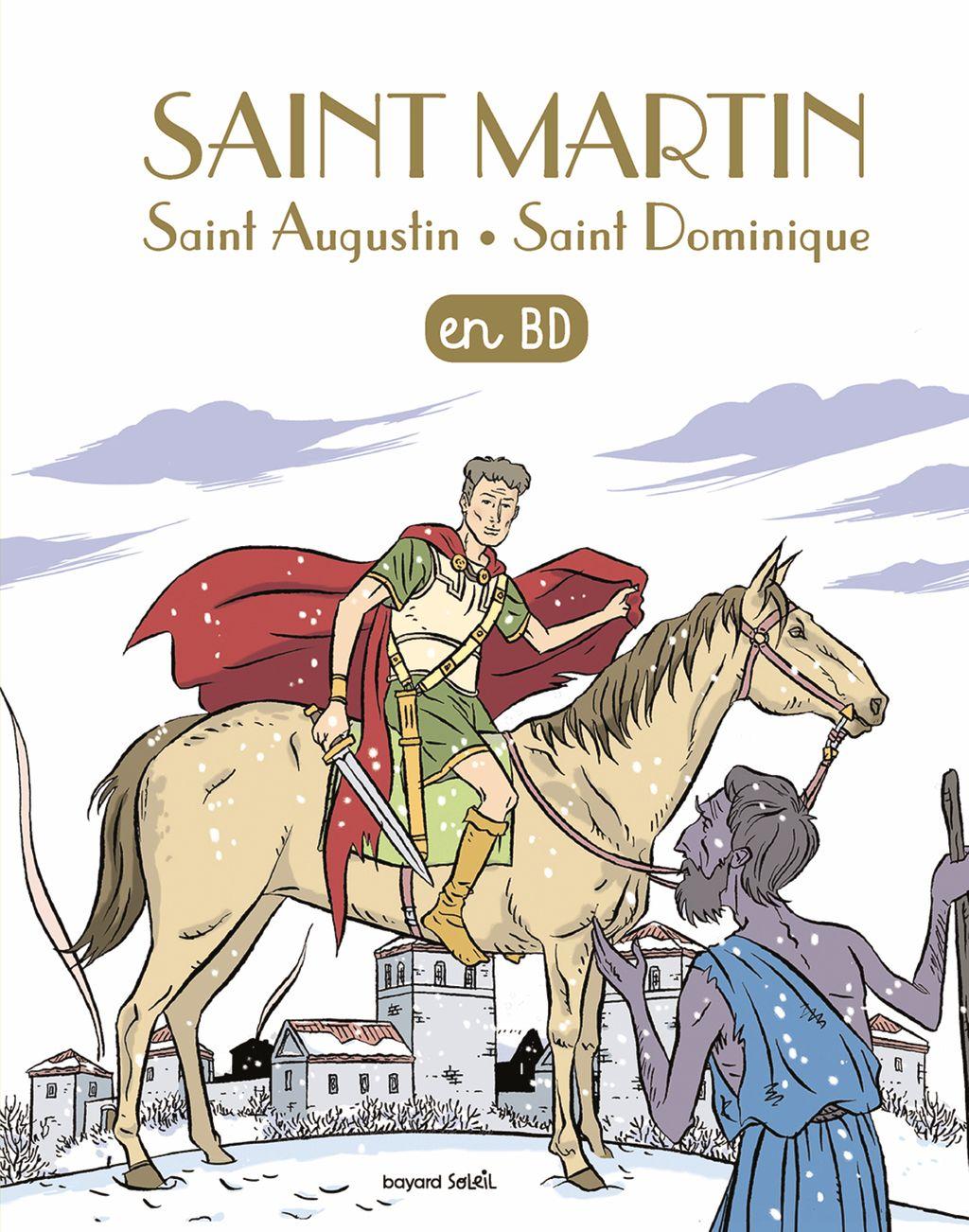 Couverture de «Saint Martin en BD»