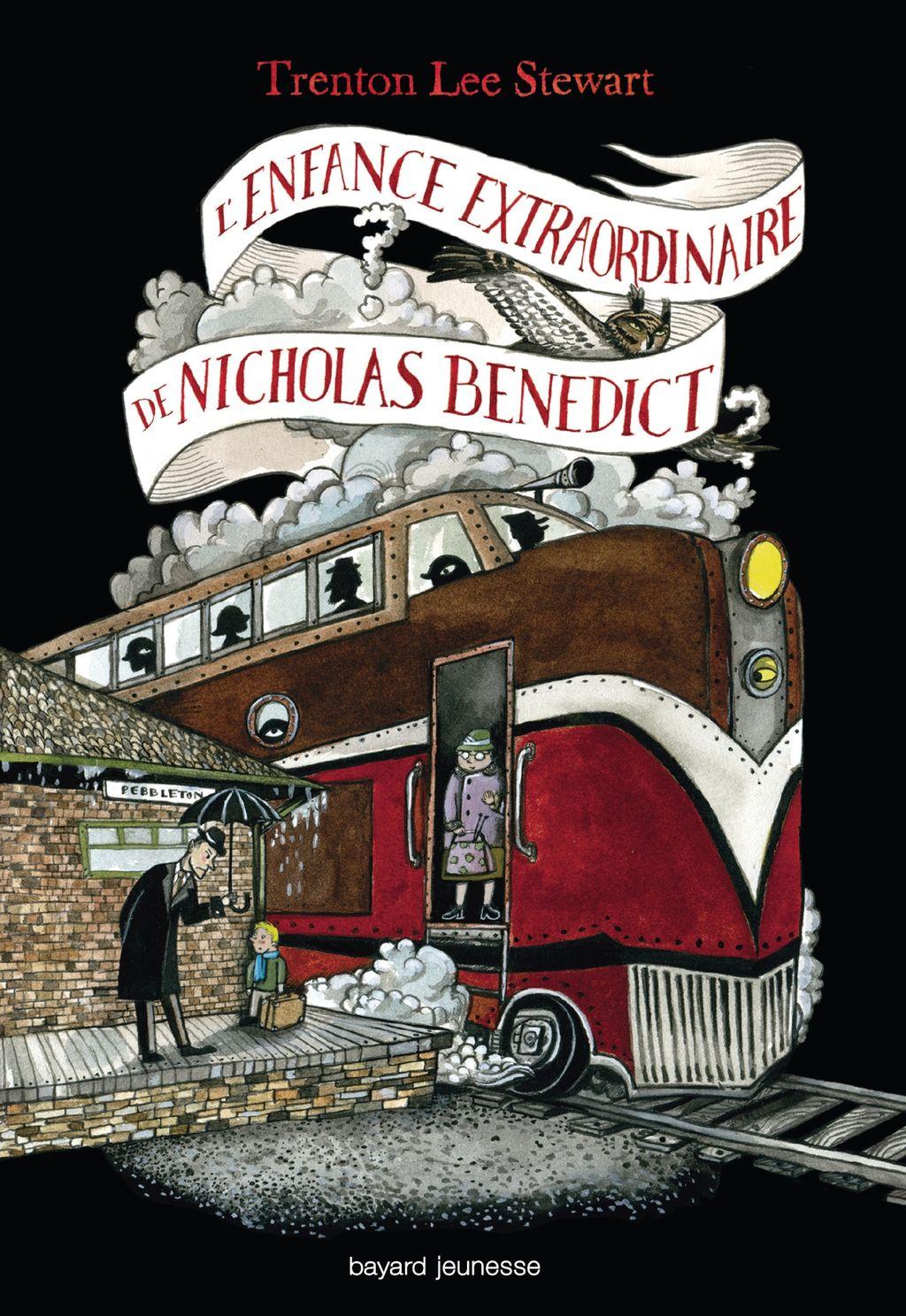Couverture de «L'enfance extraordinaire de Nicholas Benedict»
