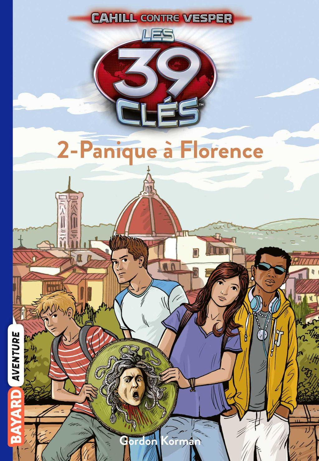 Couverture de «Panique à Florence»