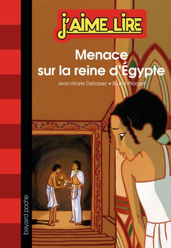 «Menace sur la reine d'Égypte» cover