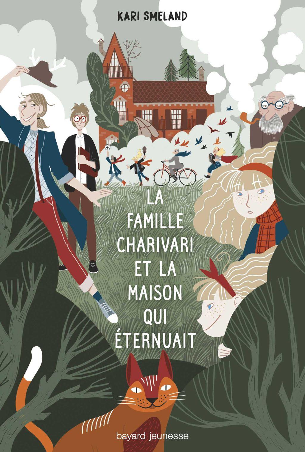 Couverture de «La Famille Charivari et la maison qui éternuait»