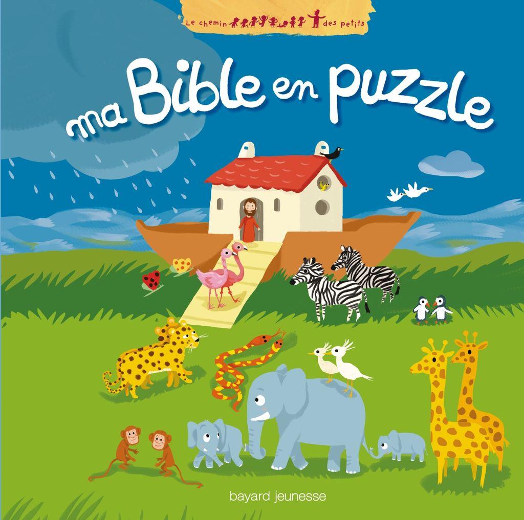 «Ma Bible en puzzle» cover