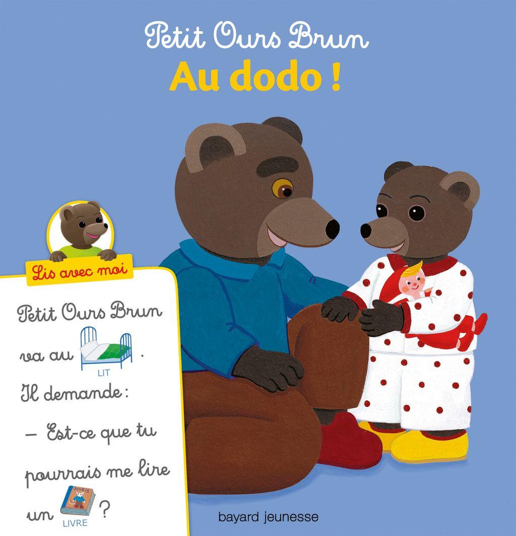 Couverture de «Petit Ours Brun, Lis avec moi – Au dodo !»