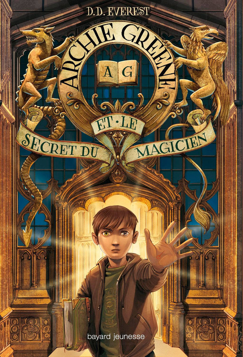 Couverture de «Archie Greene et le secret du magicien»