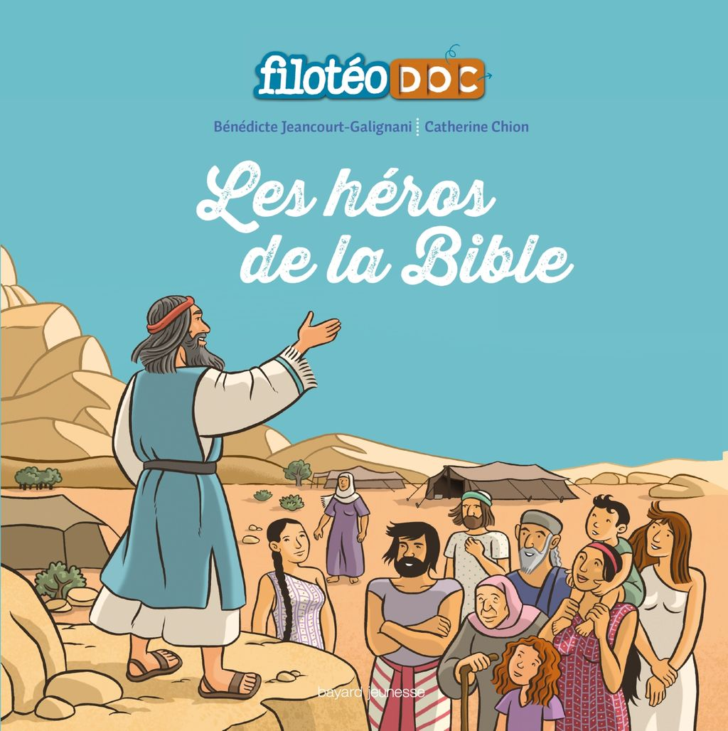 «Les héros de la Bible» cover