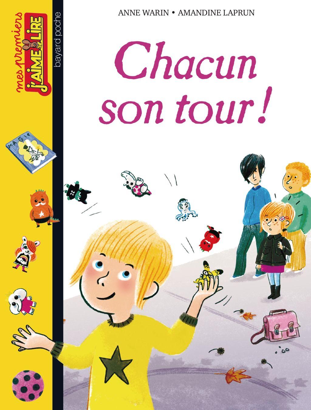 «Chacun son tour !» cover
