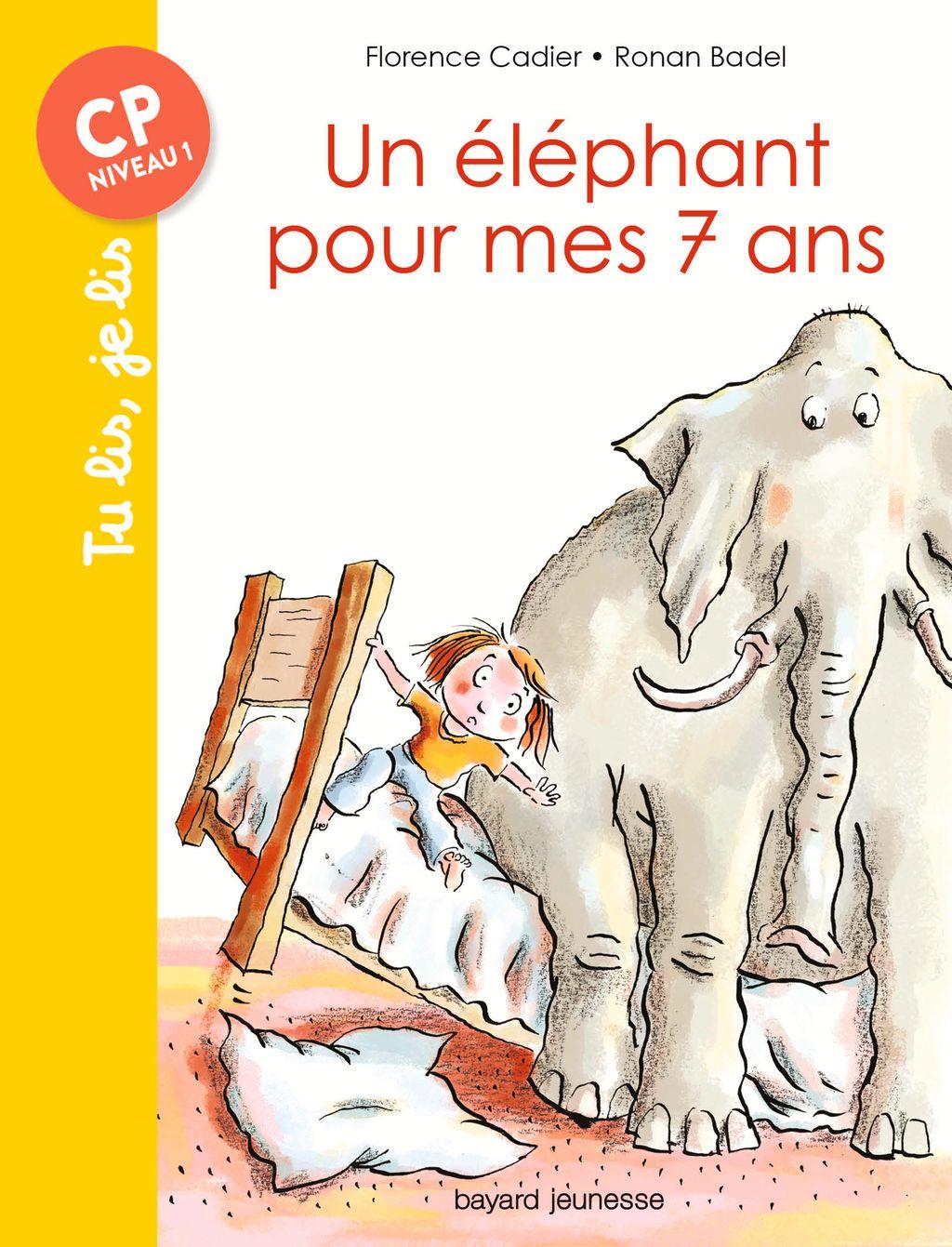 Couverture de «Un éléphant pour mes sept ans»