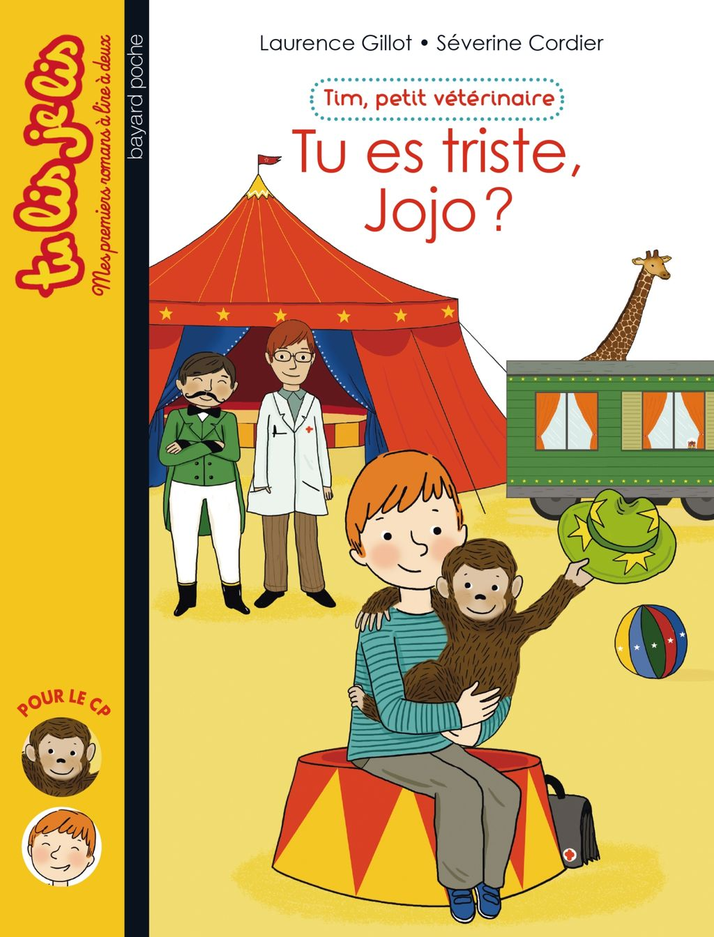 «Tu es triste, Jojo ?» cover