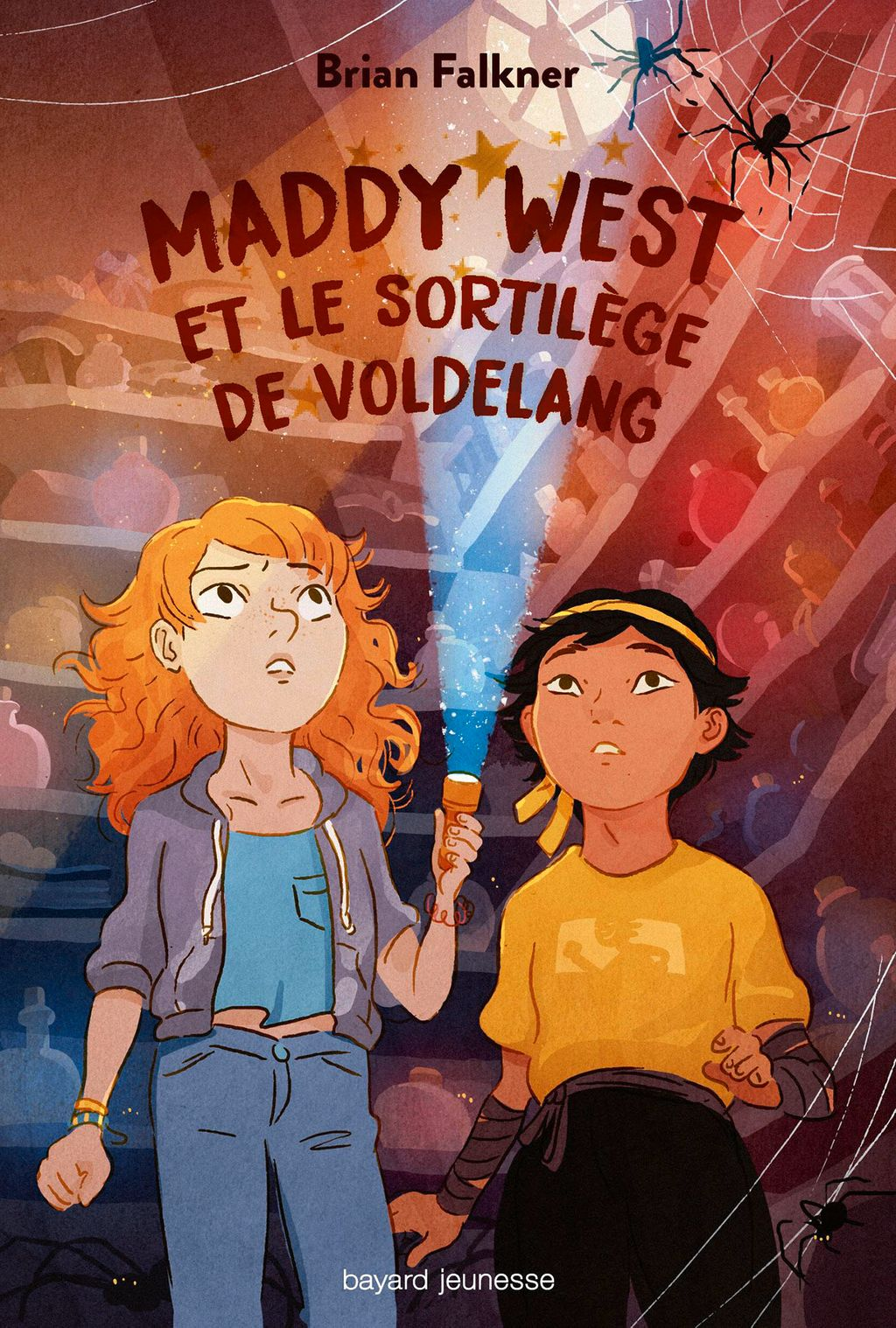 Couverture de « Maddy West et le sortilège de Voldelang »
