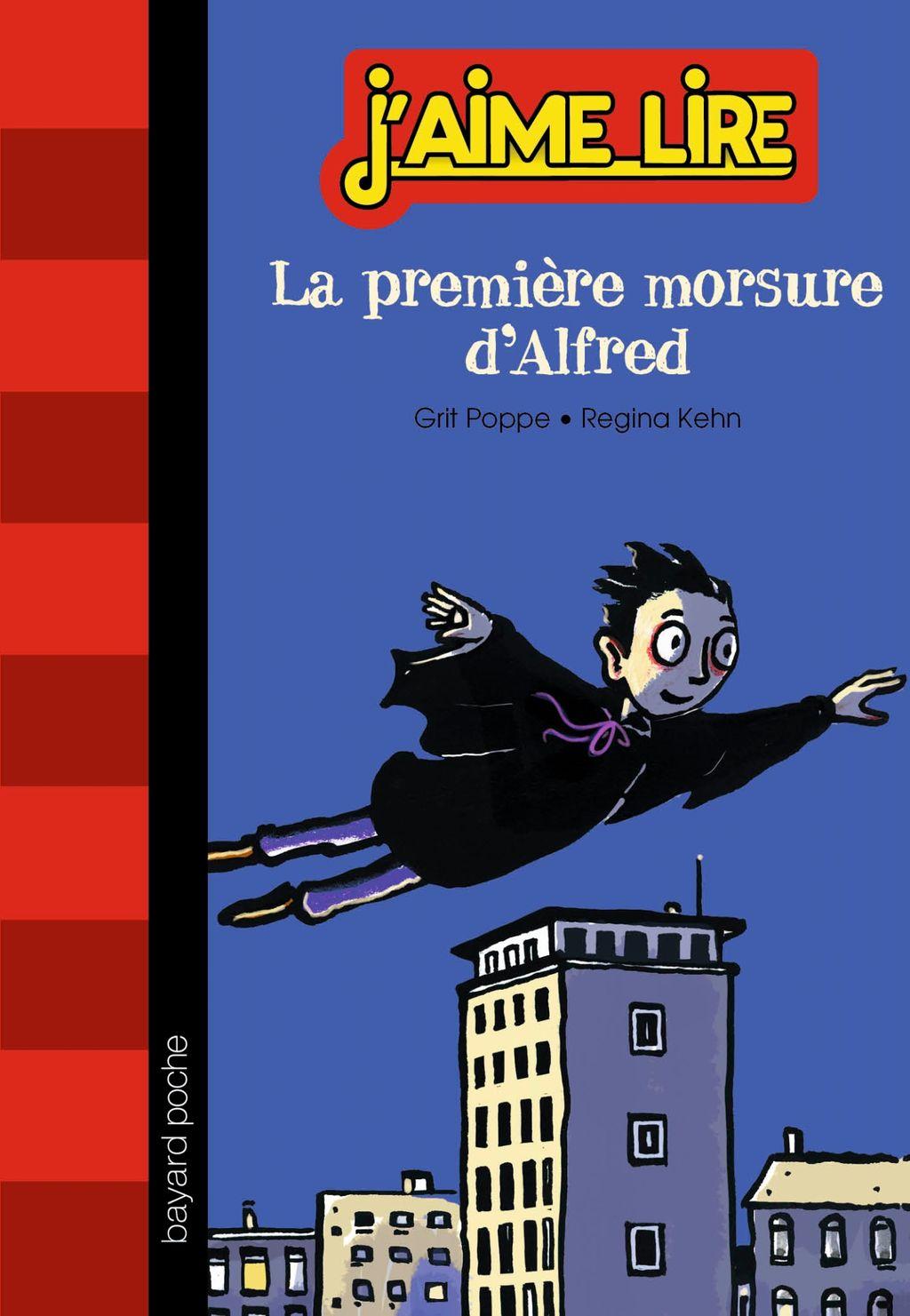 Couverture de «La première morsure d'Alfred»