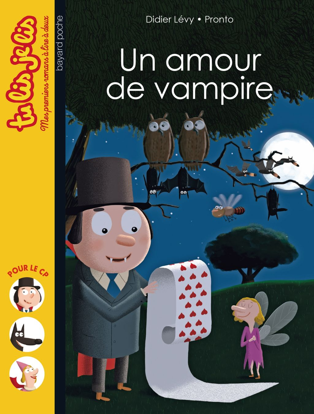 Couverture de «Un amour de vampire»