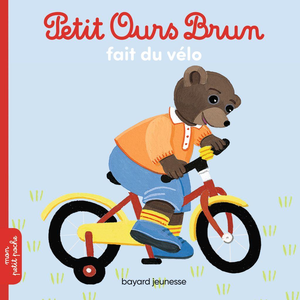«Petit Ours Brun fait du vélo» cover