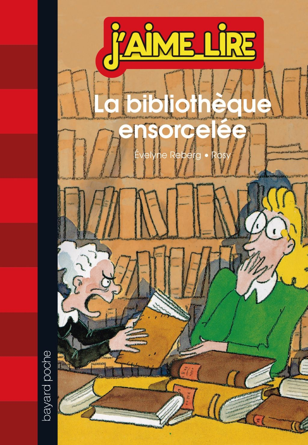 Couverture de «La bibliothèque ensorcelée»