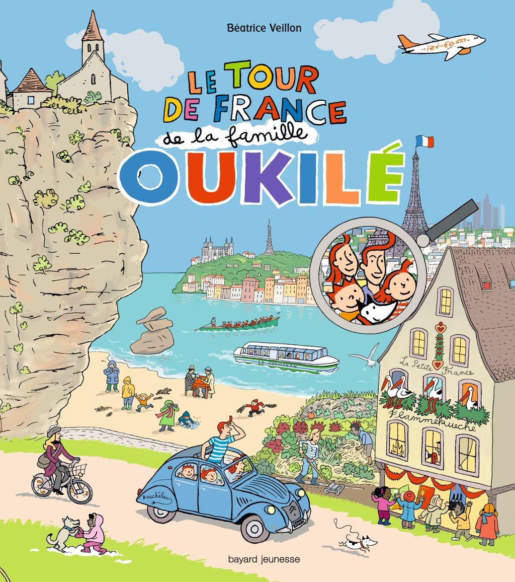 «Le tour de France de la famille Oukilé» cover