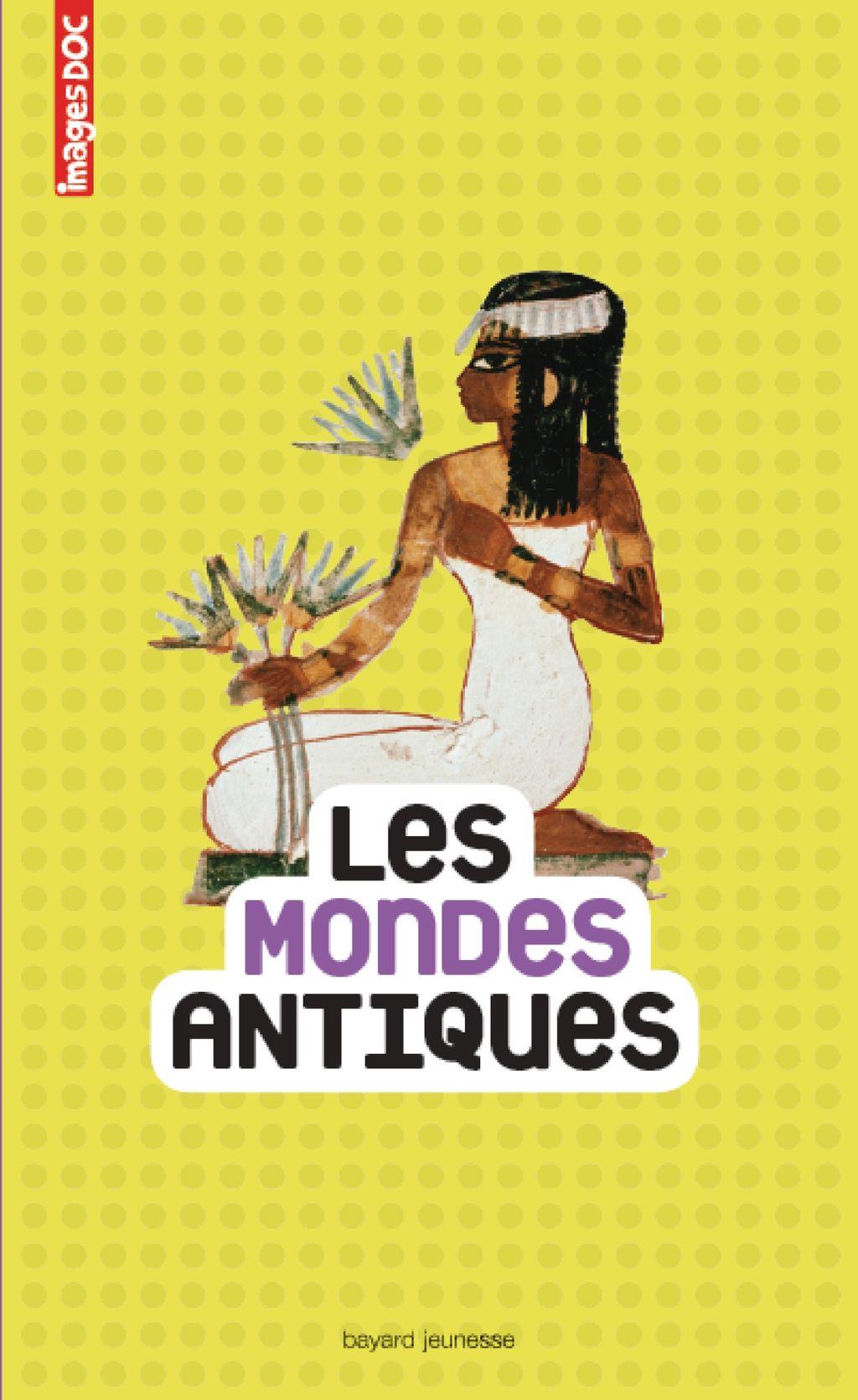 «Les mondes antiques» cover