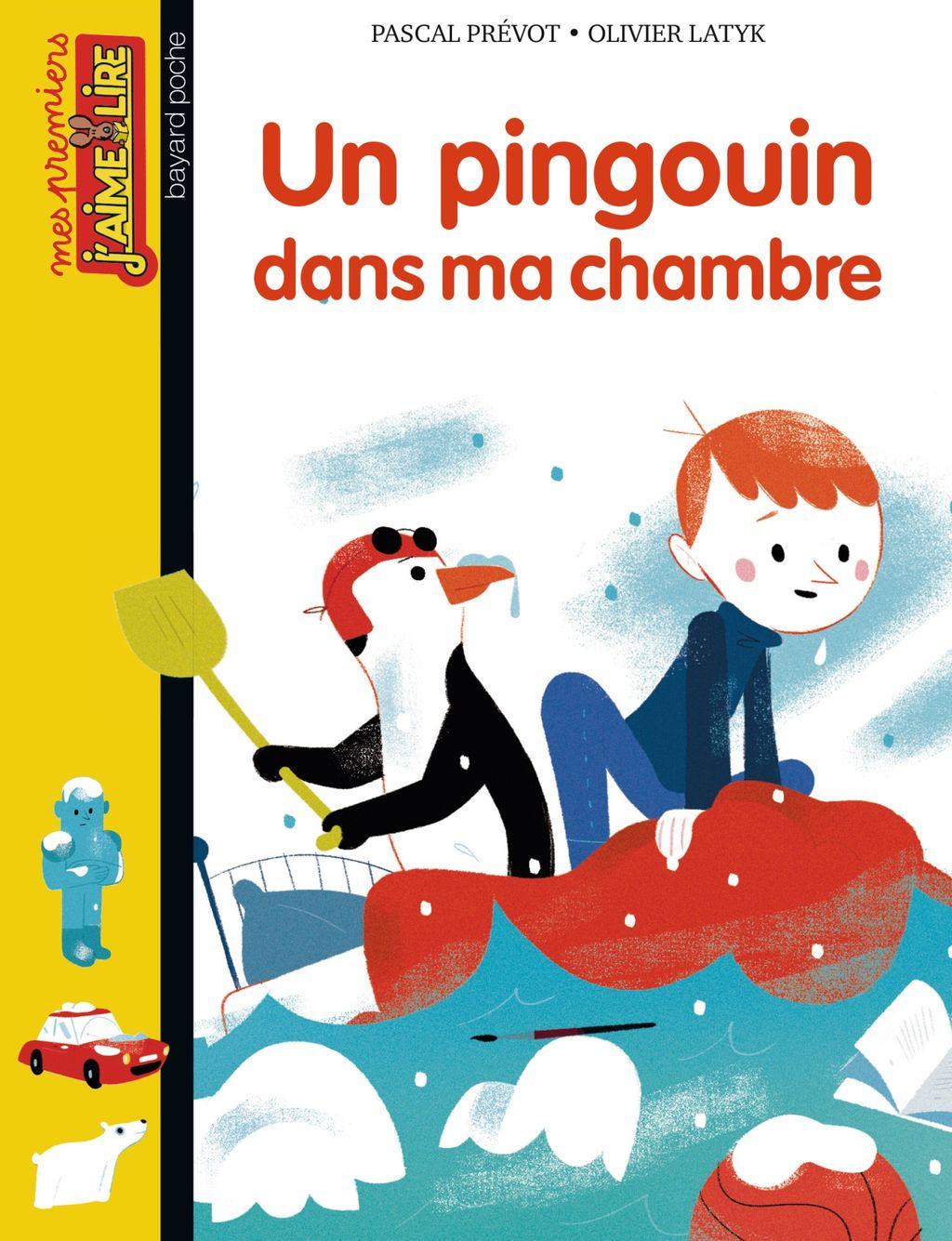 Couverture de «Un pingouin dans la chambre»