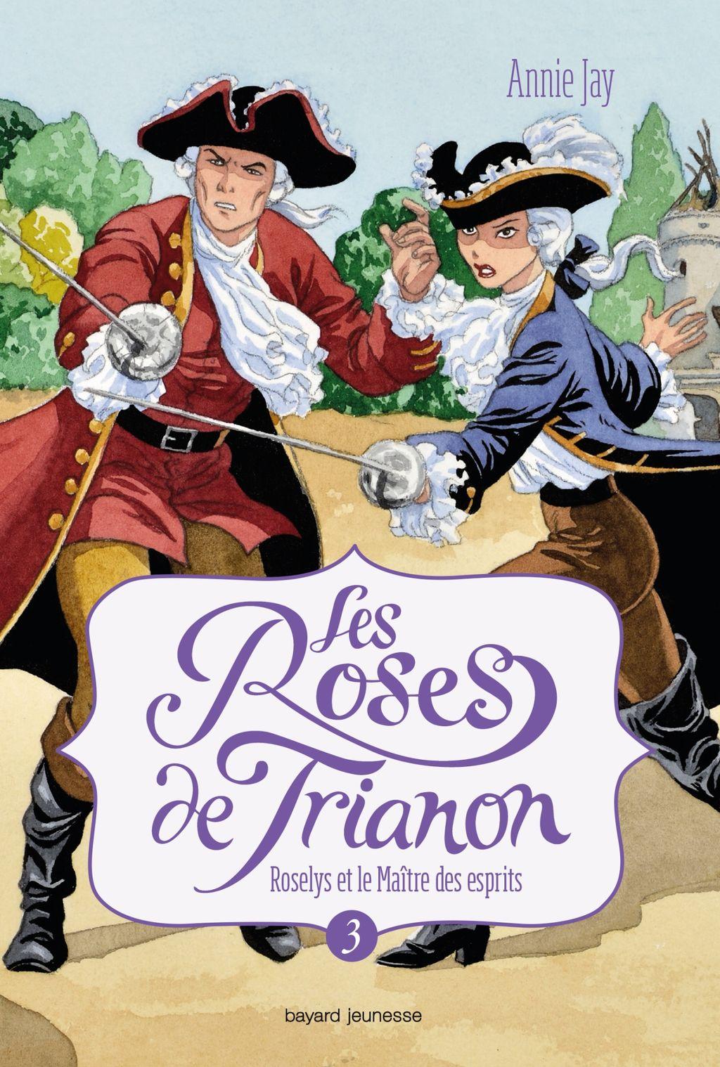 «Roselys et le maître des esprits» cover