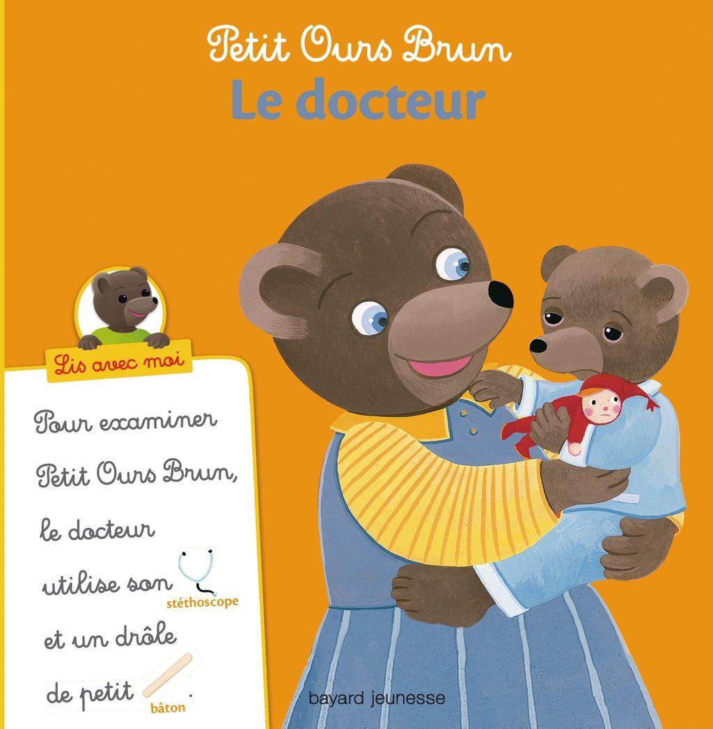 Couverture de «Petit Ours Brun, Lis avec moi – Le docteur»