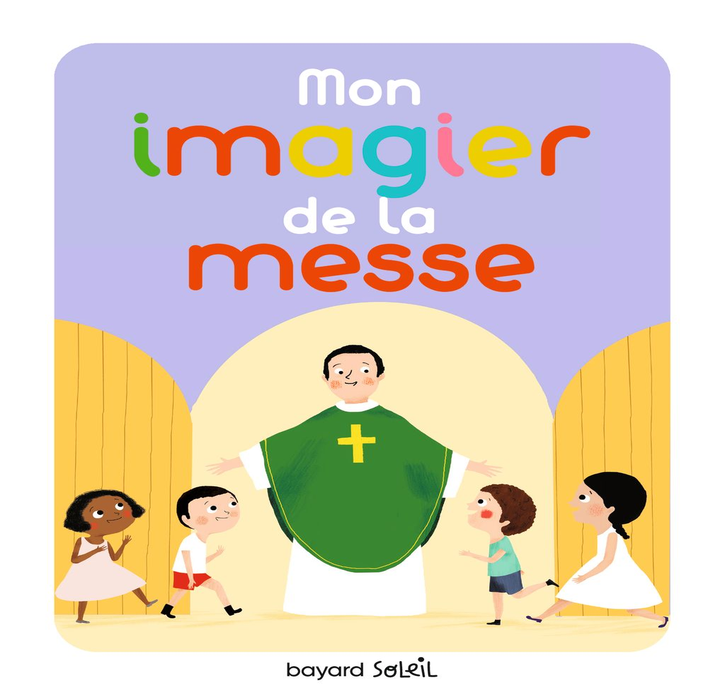 «Mon imagier de la messe» cover